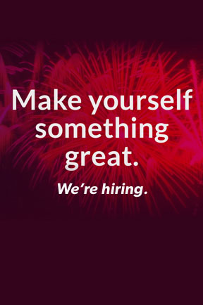 Make yourself something great, join us