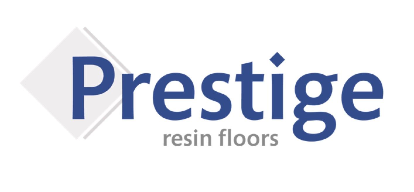 Prestige Resin Floors logo, designed by Red Balloon