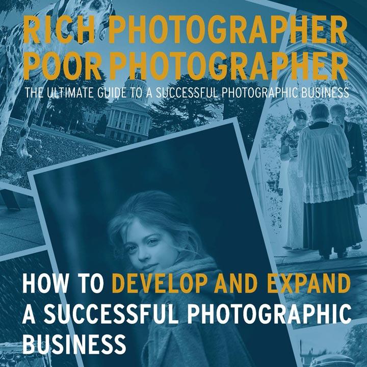Rich Photographer Poor Photographer photography website and ecommerce website