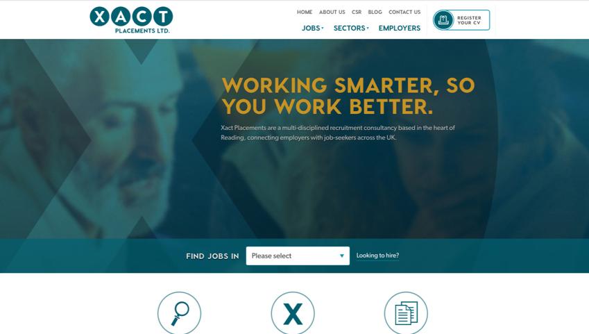 Xact Recruitment Homepage
