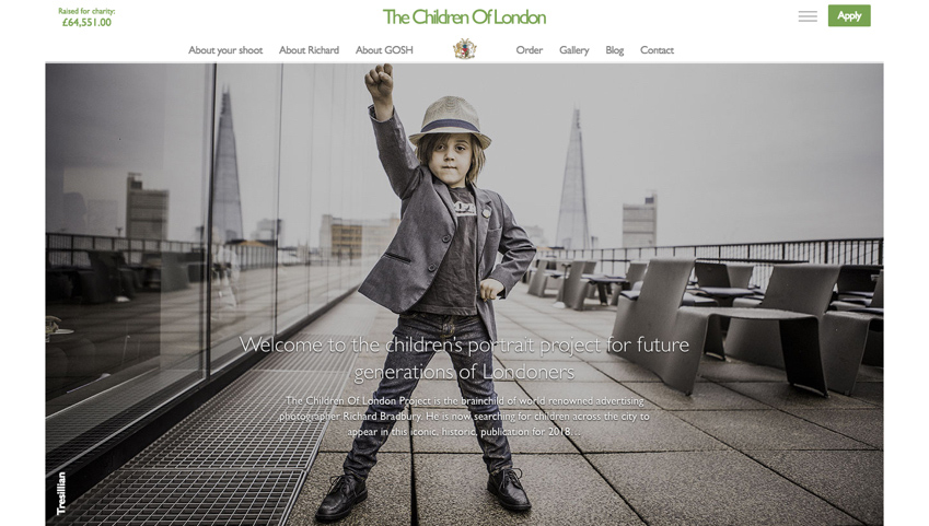 Children of London Homepage