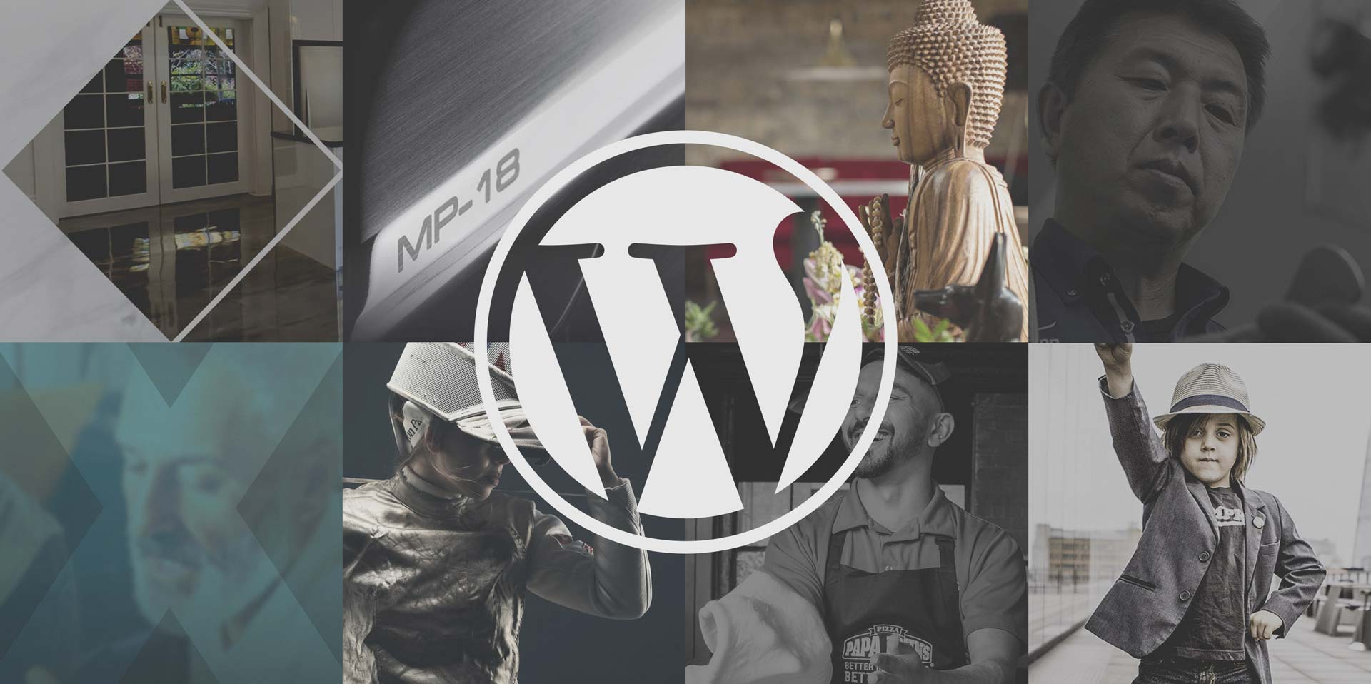 Examples of websites designed and built using Wordpress